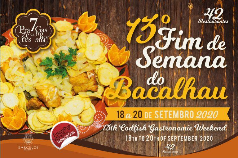 Barcelos: Fins de semana gastronómicos voltam com o Bacalhau