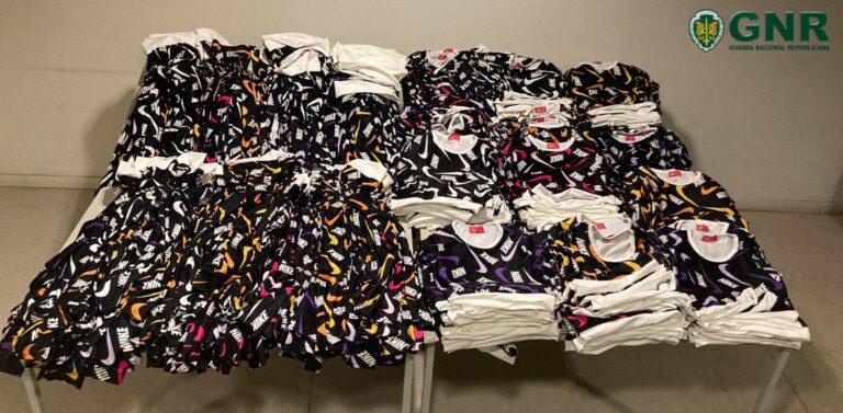 Esposende  – Apreensão de mais de 600 artigos contrafeitos