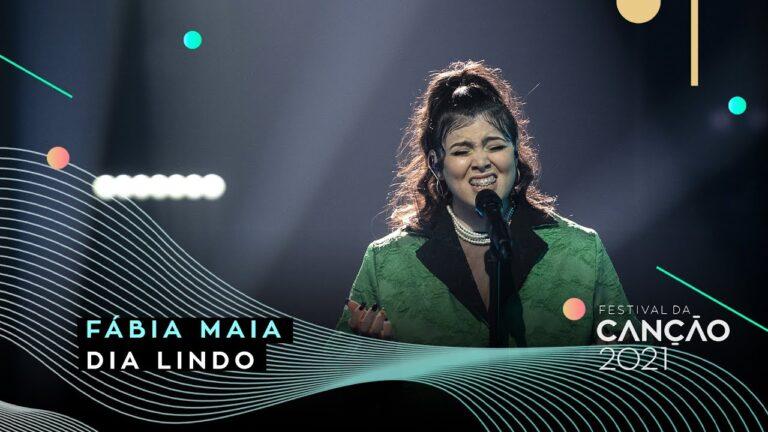 Fábia Maia no Festival da Canção 2021 – vote 760 303 103