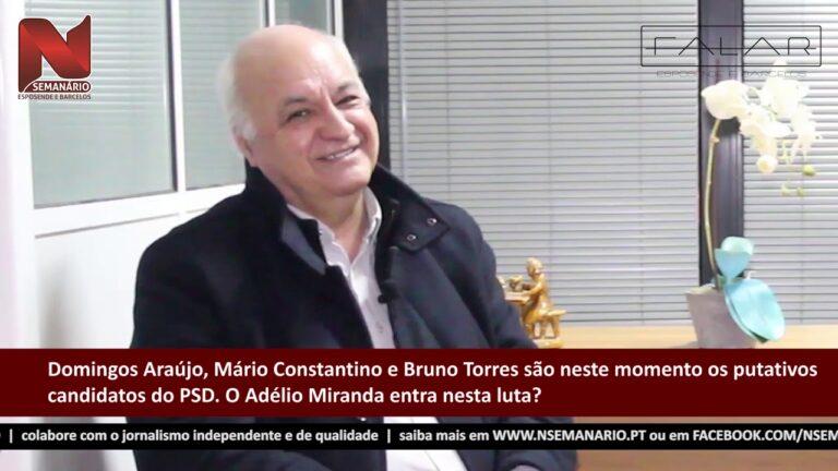 FALAR: Adélio Miranda – Líder da bancada do PSD na Assembleia Municipal de Barcelos (vídeo)