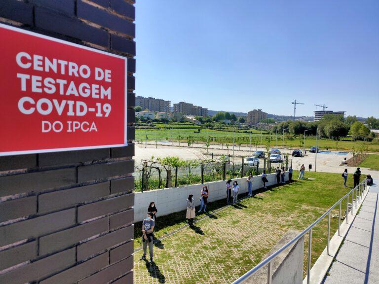 Centro de Testagem COVID-19 do IPCA já entrou em funcionamento
