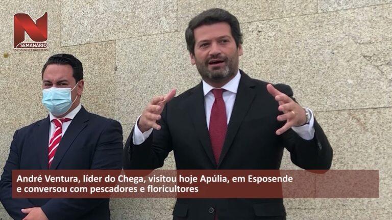 Esposende: André Ventura visitou Apúlia