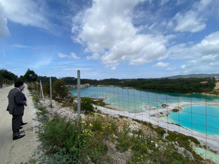 Deputado Carlos Reis visitou Fragoso a propósito do projeto de ampliação e fusão das concessões mineiras nesta zona