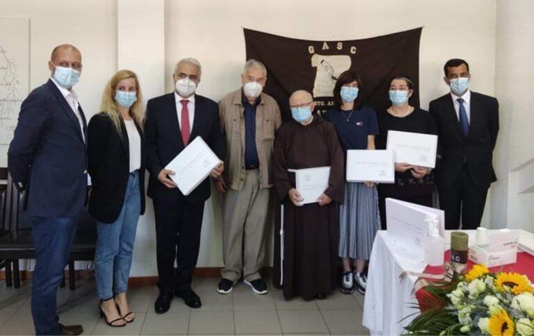 """Grupo de Acção Social Cristã celebrou protocolo do """"Projeto Um Teto para Todos"""""""