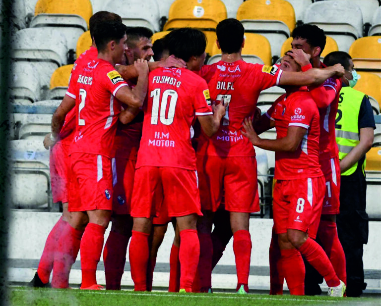 Gil Vicente estreia-se na I Liga com triunfo sobre o Boavista