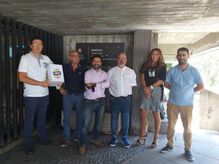 CHEGA formalizou a sua  candidatura ás autárquicas no Tribunal de Barcelos