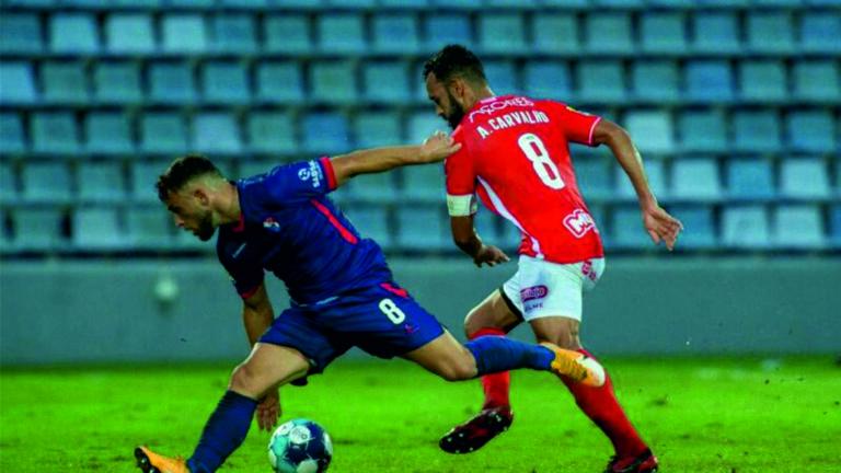Santa Clara vence Gil Vicente pela margem mínima em jogo muito disputado