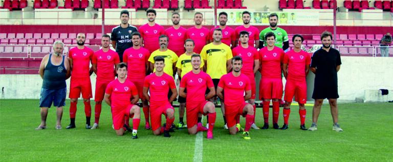 Santa Maria FC apresenta-se aos associados em jogo contra o Gil Vicente FC