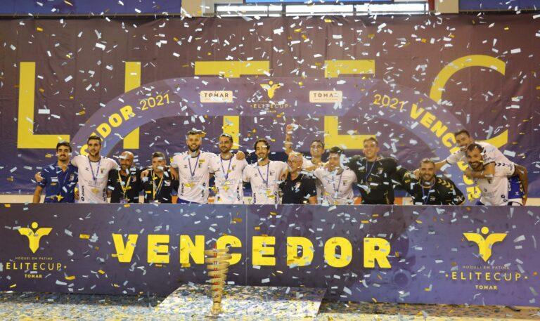 Óquei de Barcelos conquista Elite Cup de hóquei em patins ao vencer FC Porto